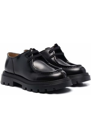 Gallucci Kids Round-toe leather shoes