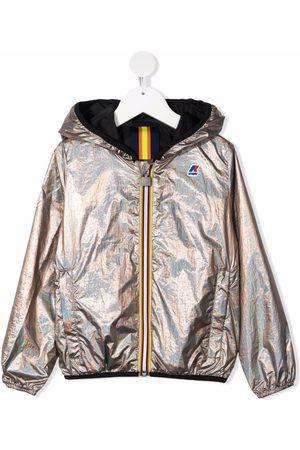 K-Way Reversible hooded jacket
