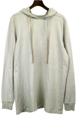 Rick Owens Grey Cotton Knitwear & Sweatshirt
