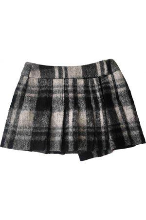 Sisley Wool mini skirt