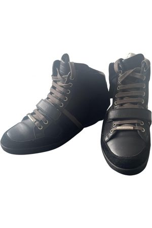 Dior Leather high trainers