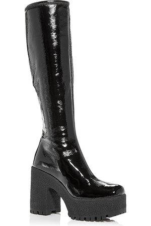 Miu Miu Women's Platform High Block Heel Boots