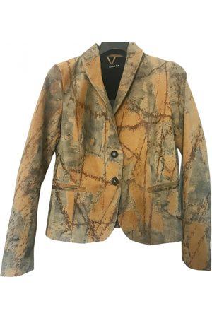 DACUTE Leather short vest