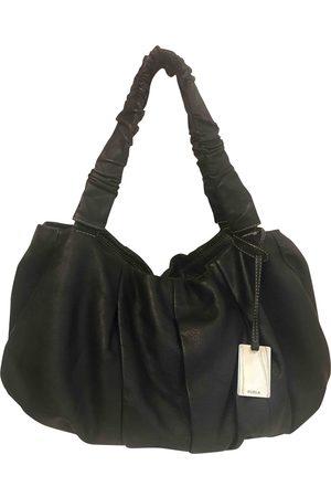 Furla Leather bowling bag