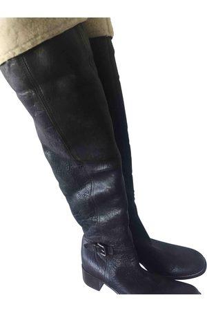Miu Miu Leather snow boots