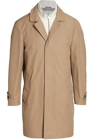Brunello Cucinelli Men's 2-in-1 Cotton & Nylon Jacket - - Size 40