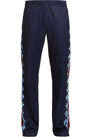VALENTINO Men's Foulard Archive Sweatpants - Navy - Size Medium