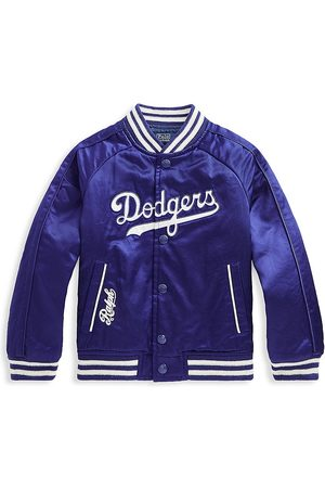 Ralph Lauren Little Boy's & Boy's Los Angeles Dodgers™ x Baseball Jacket - Royal - Size 10