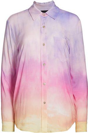 Le Superbe Women's Off My Cloud Ex-Boyfriend Shirt - Malibu Magichour - Size 0