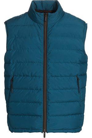 Ermenegildo Zegna Men's Stratos Zip-Up Vest - - Size 48