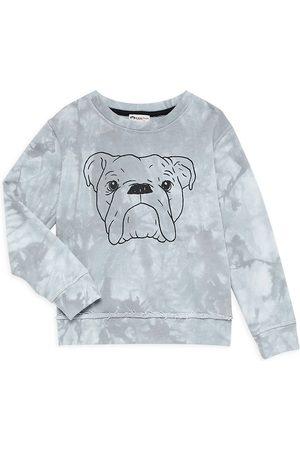 Appaman Little Boy's & Boy's Highland Bulldog Sweatshirt - Grey Tie Dye - Size 10