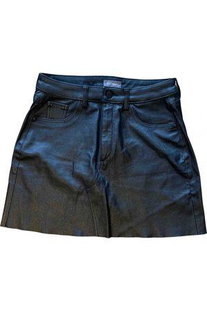 DL1961 Women Mini Skirts - Leather mini skirt