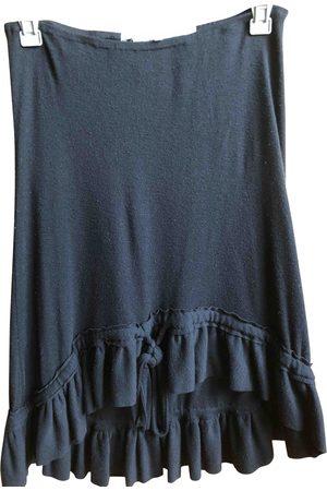 ANNE VALERIE HASH Wool mini skirt