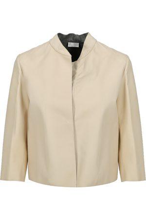 Brunello Cucinelli Women Leather Jackets - Leather jacket