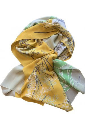 Kenzo Multicolour Silk Scarves