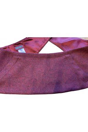 Kenzo Burgundy Silk Belts