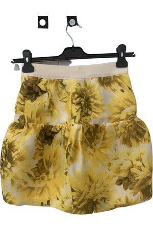 Giambattista Valli Silk mini skirt