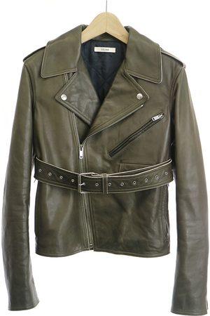Céline Leather blazer