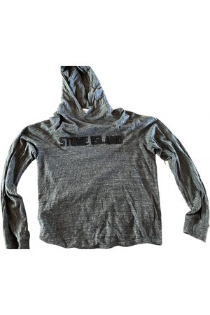 Stone Island Grey Cotton Knitwear & Sweatshirt