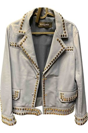 Simonetta Leather biker jacket