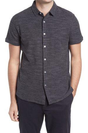 Robert Barakett Men's Perry Sound Knit Short Sleeve Button-Up Shirt