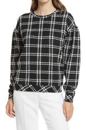 Halogen Women's Halogen Pattern Detail Sweatshirt