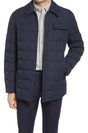 Cole Haan Men's Box Quilted Shirt Jacket