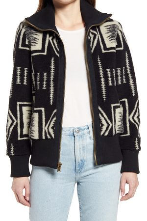 Pendleton Women's Women's Foxglove Print Zip Jacket