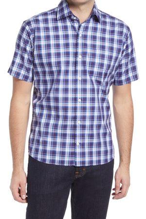 Peter Millar Men's Clarke Plaid Short Sleeve Button-Up Shirt