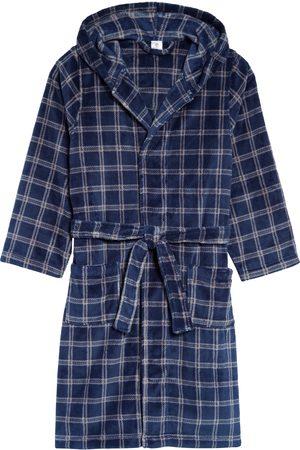 Tucker + Tate Toddler Boy's Hooded Plush Robe