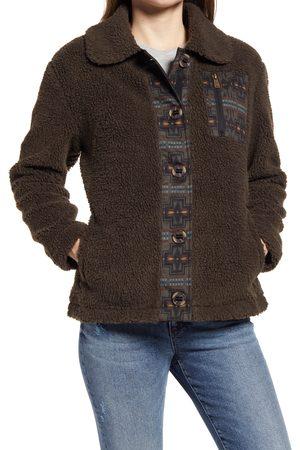 Pendleton Women's Women's Larkspur Button-Up Fleece Jacket