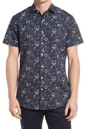 Rodd & Gunn Men's Arrowtown Sports Fit Floral Short Sleeve Button-Up Shirt