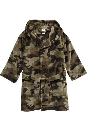 Tucker + Tate Boy's Hooded Plush Robe