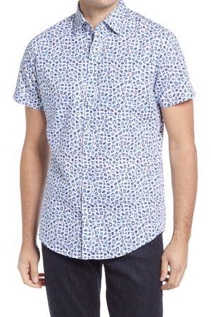 Rodd & Gunn Men's Warkworth Sports Fit Short Sleeve Button-Up Shirt