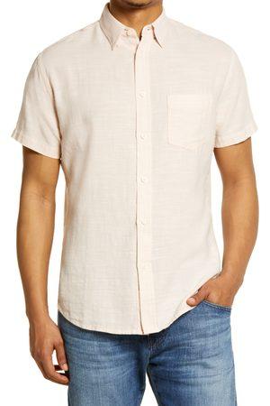 Rails Men's Fairfax Short Sleeve Button-Up Cotton Shirt