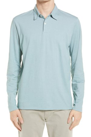 THEORY Men's Men's Bron L.current Long Sleeve Pique Polo
