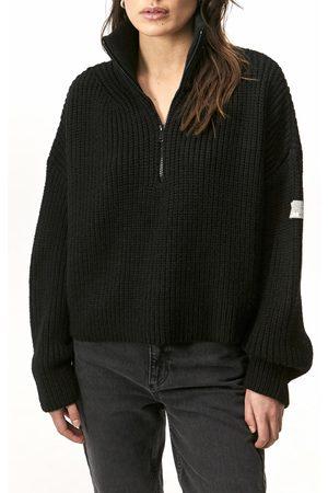 BDG Urban Outfitters Women's Fisherman Half Zip Sweater