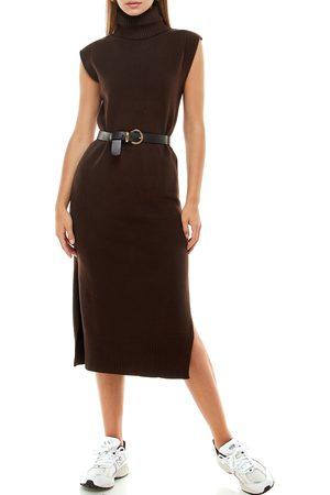 WAYF Women's Ariana Turtleneck Sweater Dress
