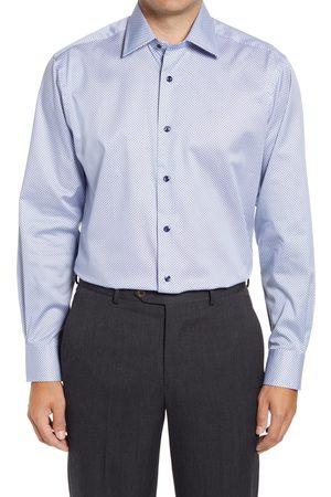 David Donahue Men's Diamond Dress Shirt