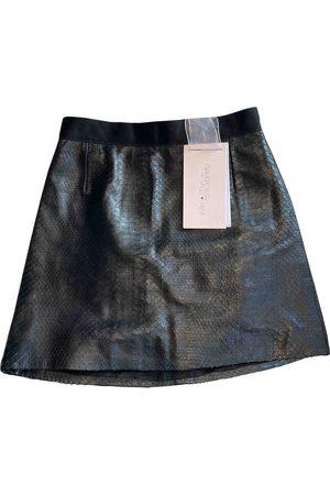 H&M Leather mini skirt