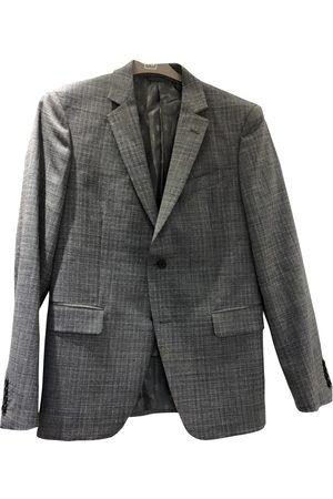 John Varvatos Grey Wool Jackets