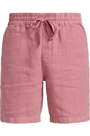 Joes Jeans Men's Linen Shorts - Mesa Rose - Size XXL