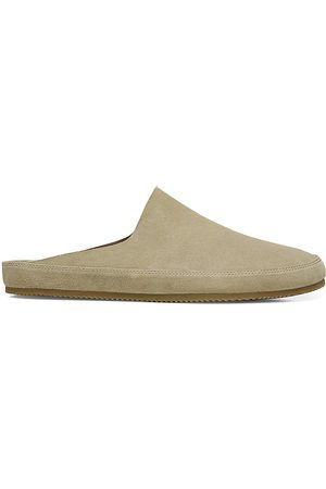Vince Men's Alonzo Suede Slippers - Natural - Size 9