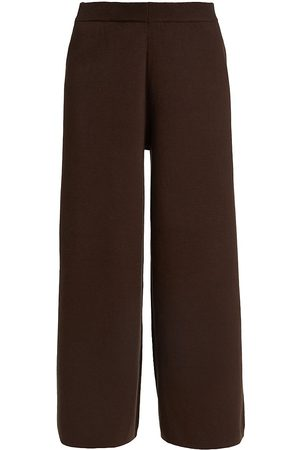 Gestuz Women's Talli Mid-Rise Culottes - Coffee Bean - Size XS
