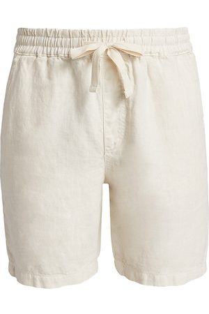 Joes Jeans Men's Linen Shorts - Sand - Size Small
