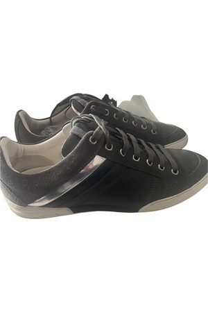 Dior Homme Leather low trainers