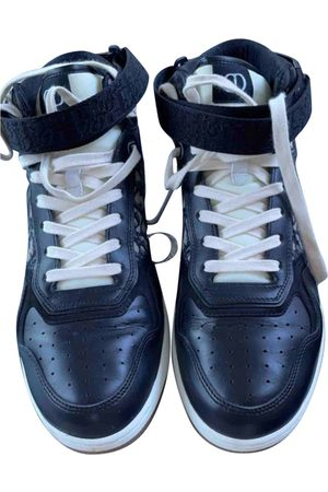 Dior B27 leather high trainers