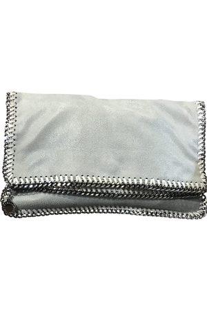 Stella McCartney Grey Polyester Clutch Bags