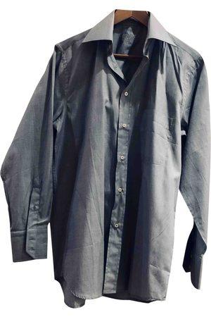 EMMANUELLE KHANH Grey Cotton Shirts