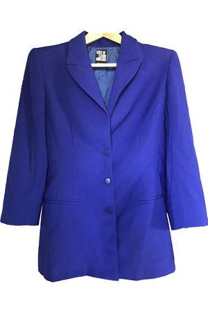 CLAUDE MONTANA Women Gilets - Wool short vest